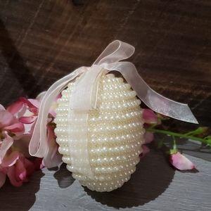 2 for 13 $  Beaded Easter egg  decoration